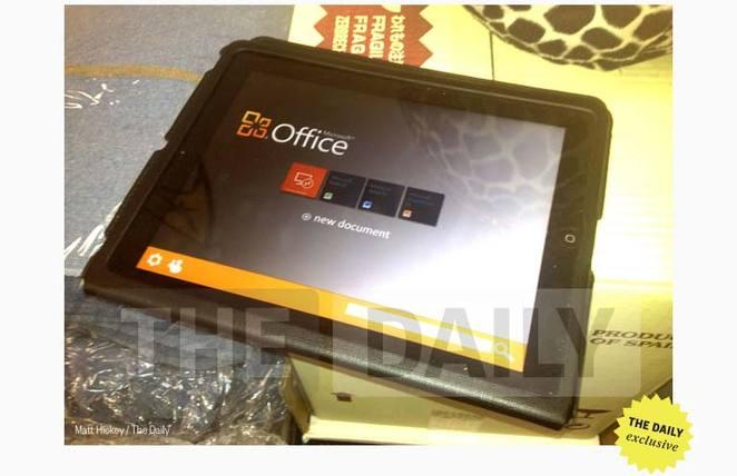 Office på iPad