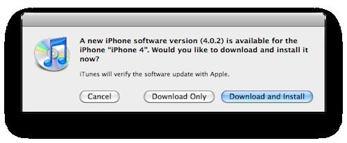 iOS sikkerhetsoppdatering