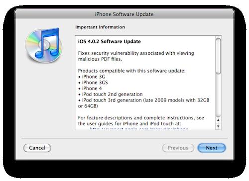 Apple tetter iOS sikkerhetshull