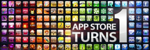 Apples App Store fyller år