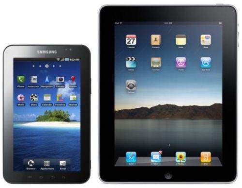 iPad vs. Galaxy