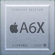 Apple kaster ut Samsung for A6X