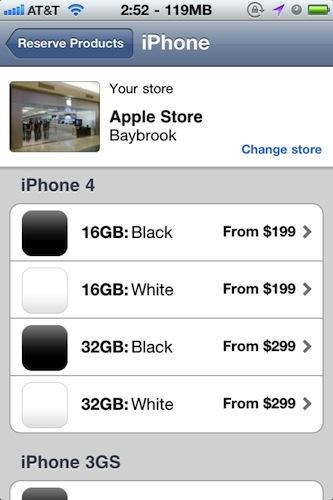 Hvit iPhone 4