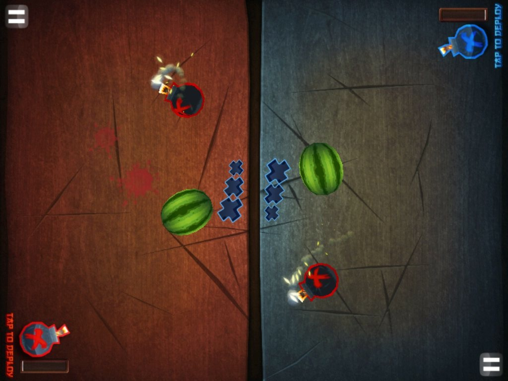 Fruit Ninja HD,iPad