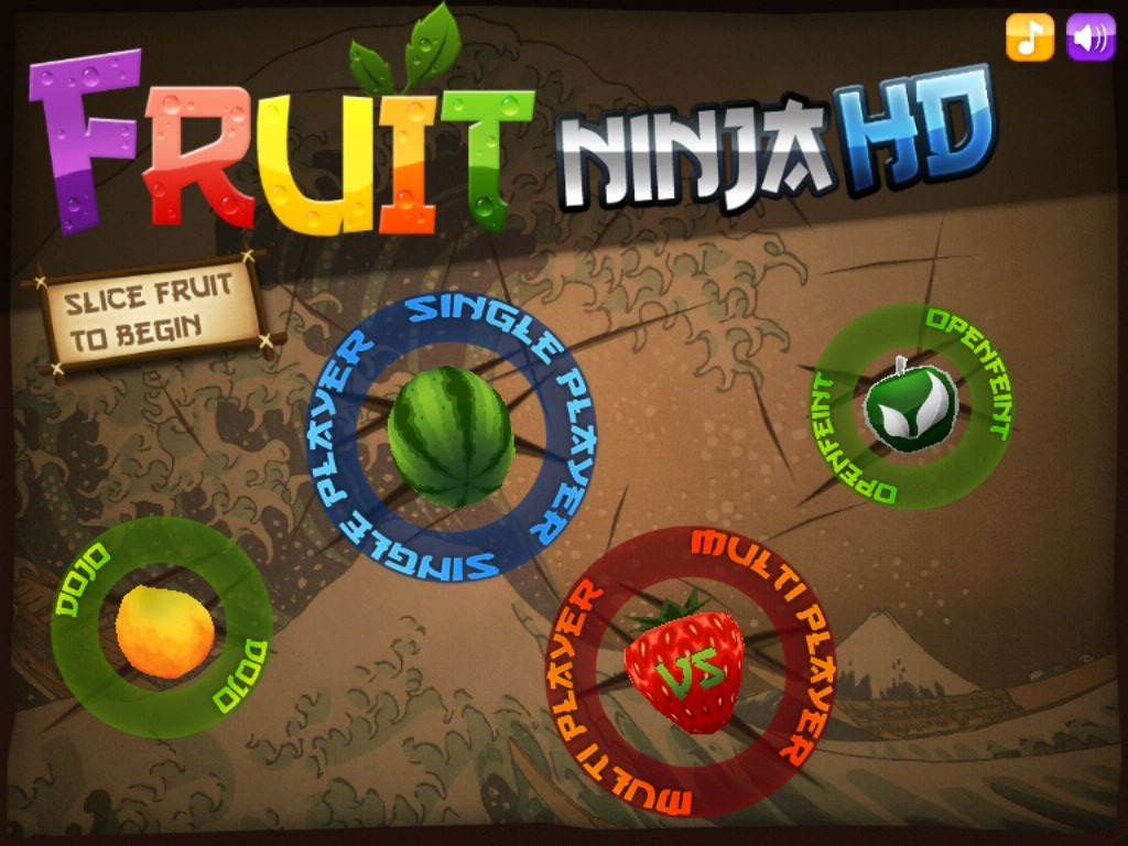 Fruit Ninja,game,iPad