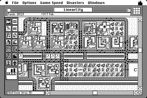 Sim City for Mac i 1989