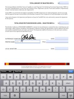 Signer og kommenter PDFer direkte i iOS