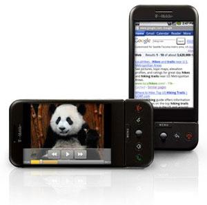 Google Android - den første telefonen til å konkurrere med iPhone