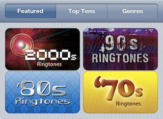 iOS 5 med støtte for kjøp av meldingstoner