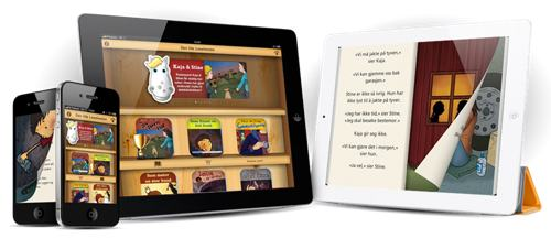 Aschehoug lanserer appbok-serie for barn