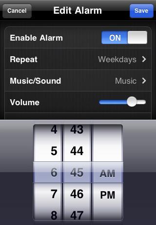 Awaken til iPhone