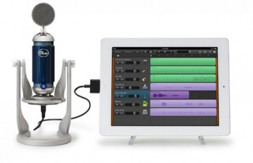 Kvalitetsmikrofon til iPad fra Blue