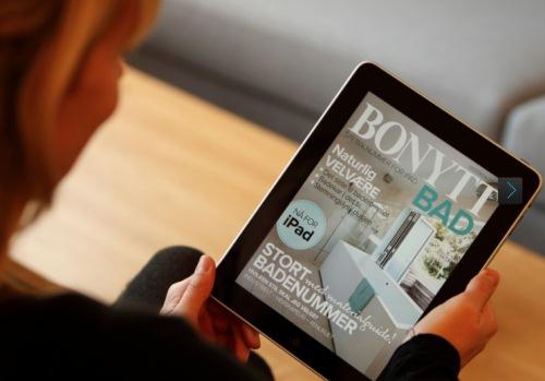 Bonytt - første norske magasin på iPad