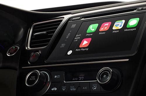 Apple lanserer CarPlay