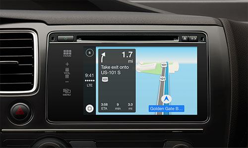 Apple lanserer CarPlay