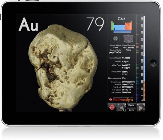 iPad applikasjoner