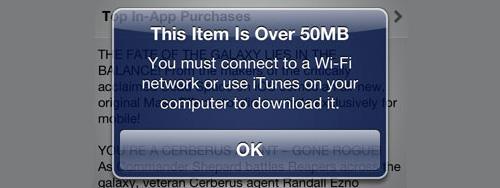 App Store limit
