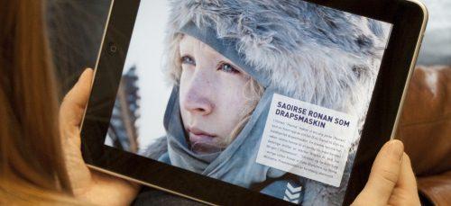 Filmweb på iPad