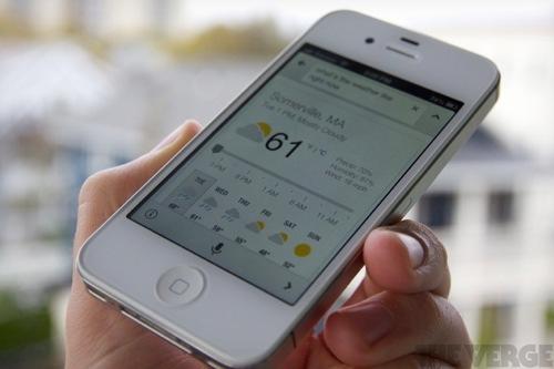 Google Now på vei til iOS