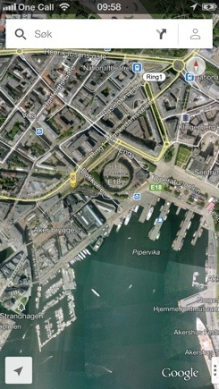 Google Maps er her