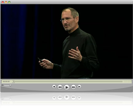 iPhone SDK lanseringsvideo