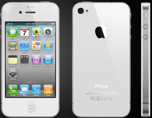 iPhone 4 i hvit