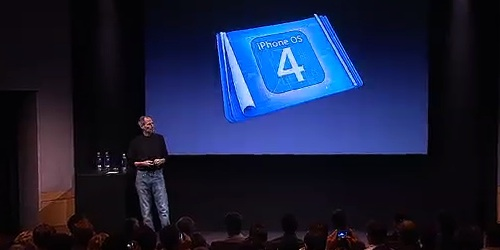 Apple iPhone OS 4 Event
