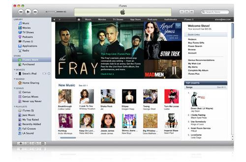 iTunes Store redesign