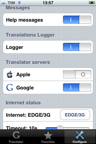Internet Translator hjelper deg med oversetting på iPhone