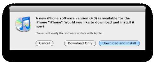 iOS 4 er her