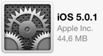 Apple lanserer iOS 5.0.1