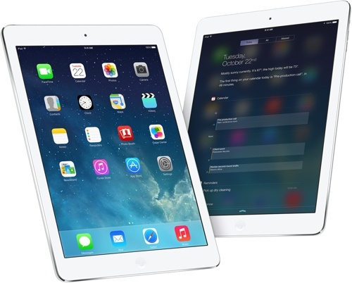 Apple lanserer iPad Air