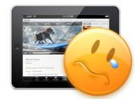 iPad forsinkelse