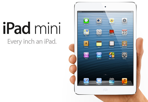 iPad mini lansert