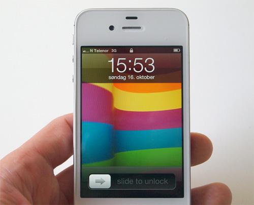 Vinn en iPhone 4S