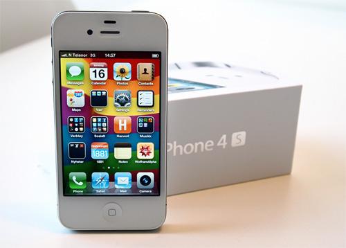 Nå er iPhone 4S her