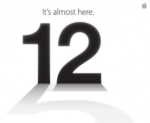 Apple inviterer til Media Event 12. september