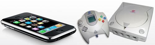 iPhone og Dreamcast