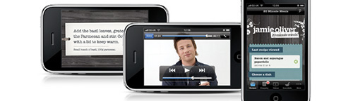 Jamie Oliver iPhone