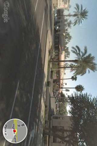 iPhone Streetview