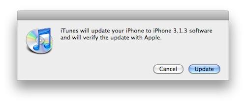Apple oppdaterer iPhone OS
