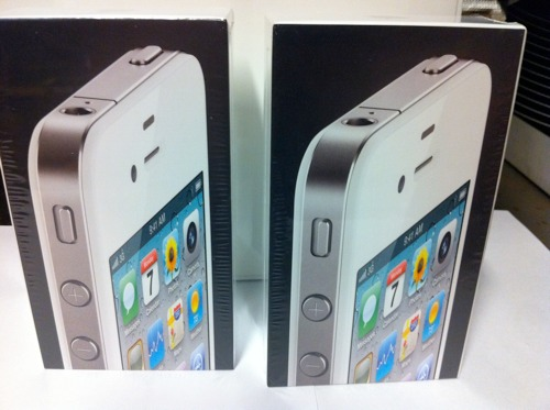 Hvit iPhone i Norge