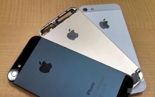 iPhone 5S i gull