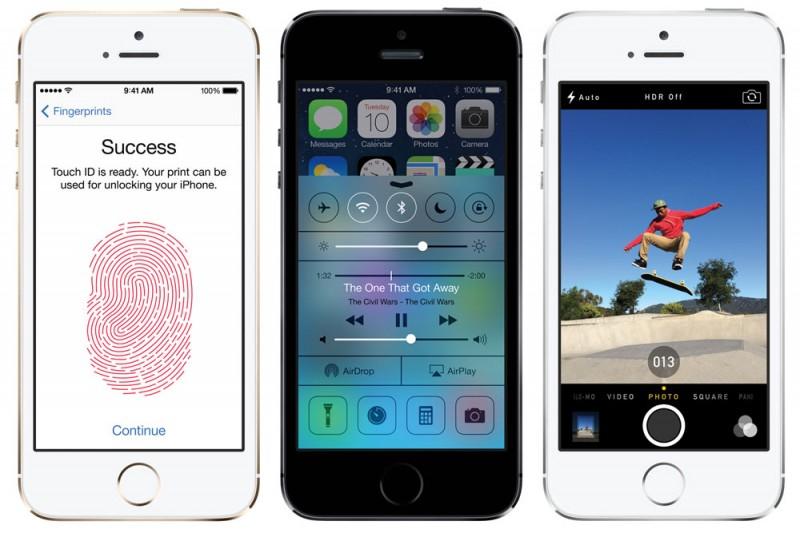 De første iPhone 5C/S testene er her
