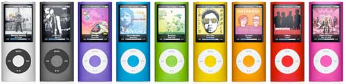 Apple lanserer ny iPod nano og iPod touch