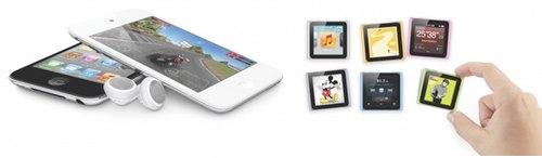 Apple oppdaterer iPad nano og touch
