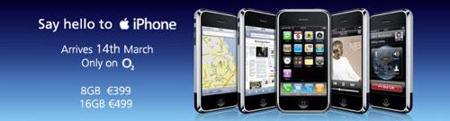 iPhone i Irland
