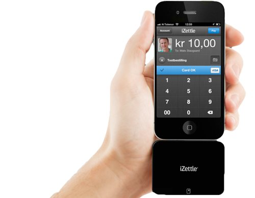 iZettle - smart betalingsløsning for iOS