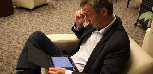 Jens styrer Norge med iPad