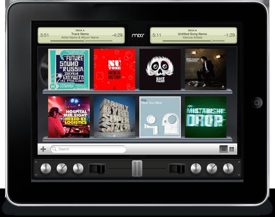DJ-app til iPad